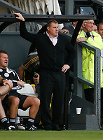 Photo: Steve Bond/Richard Lane Photography. Derby County v Sheffield United. Coca-Cola Championship. 13/09/2008. Paul Jewell in the dugout