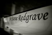 Henley. Berks, United Kingdom. <br /> <br /> Royal Regatta Boat Tent. Racked Eight,  [Sir Steve REDGRACE. 2017 Henley' Women's Regatta. Rowing on, Henley Reach. River Thames. <br /> <br /> <br /> Sunday  18/06/2017<br /> <br /> <br /> [Mandatory Credit Peter SPURRIER/Intersport Images]