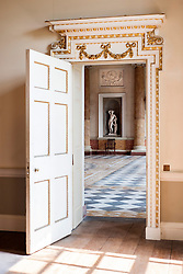 Wentworth Woodhouse looking from Anteroom into Marble Saloon<br />