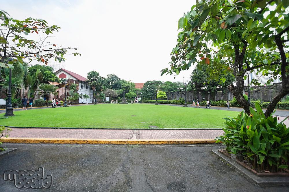 Public square at Fort Santiago; Intramuros; Manila; Philippines