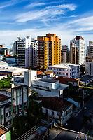 Vista do centro da cidade. Florianópolis, Santa Catarina, Brasil. / Downtown view. Florianopolis, Santa Catarina, Brazil.