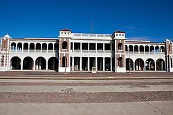Harvey House Railroad Depot, originally the Casa del Desierto train station,Barstow, California, United States of America
