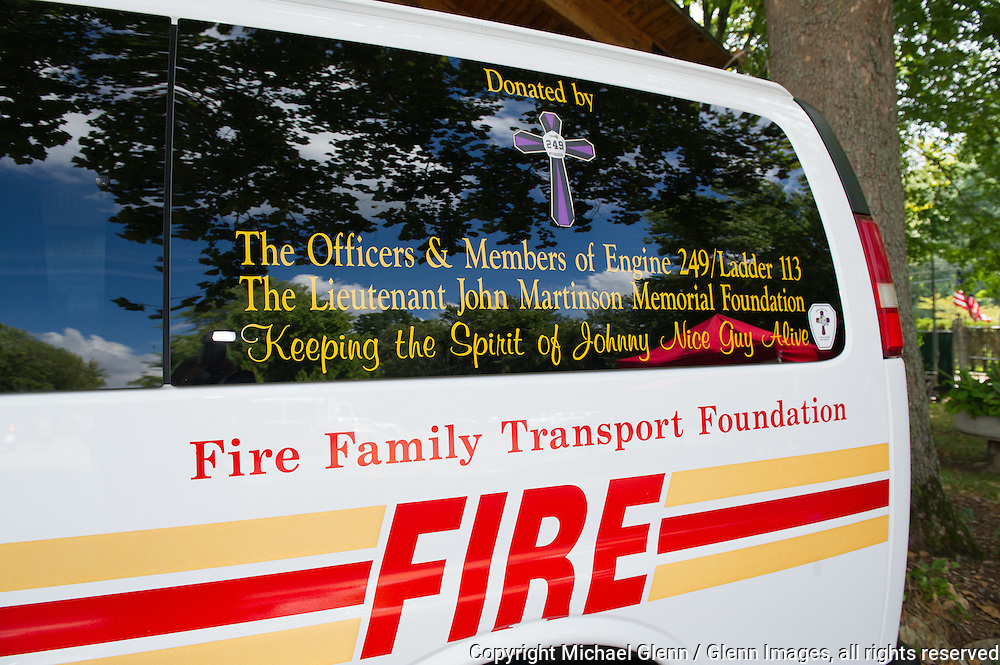 19 Sep 2015 Staten Island, New York US // Honoring the fallen, members and families come together for the 8th annual Lt. John Martinson Memorial Picnic at the Hillside Swim Club //  Michael Glenn  /   for the FDNY