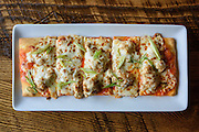 The Buffalo Flat Bread at Somewhere restaurant at 1135 Bardstown Road, next to Nowhere bar. July 26, 2016