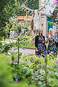 The Morgan Stanley Garden - The Chelsea Flower Show organised by the Royal Horticultural Society with M&G as its MAIN sponsor for the final year.