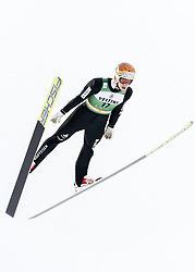 February 8, 2019 - Lahti, Finland - Tim Hug competes during Nordic Combined, PCR/Qualification at Lahti Ski Games in Lahti, Finland on 8 February 2019. (Credit Image: © Antti Yrjonen/NurPhoto via ZUMA Press)