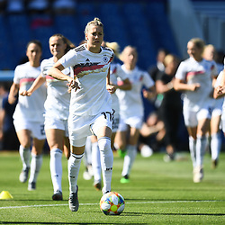 Team of Germany during the Women's World Cup match between Germany and South Africa at Stade de la Mosson on June 17, 2019 in Montpellier, France. (Photo by Alexandre Dimou/Icon Sport)