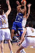 Parigi 03/07/1999<br /> Campionati Europei di Basket Francia 1999<br /> Finale<br /> Italia-Spagna<br /> Carlton Myers