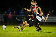 IHC at Cortown, 2nd September 2016<br /> St Michaels vs Dunderry<br /> Sam Briody (St Michaels) & Patrick Conneelly (Dunderry)<br /> Photo: David Mullen /www.cyberimages.net / 2016