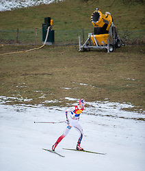 20.12.2014, Nordische Arena, Ramsau, AUT, FIS Nordische Kombination Weltcup, Staffel Langlauf, im Bild Joergen Graabak (NOR) // during Cross Country of FIS Nordic Combined World Cup, at the Nordic Arena in Ramsau, Austria on 2014/12/20. EXPA Pictures © 2014, EXPA/ JFK