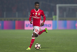 March 18, 2017 - Pacos De Ferreira, Pacos Ferreira, Portugal - Benfica's Portuguese defender Nelson Semedo during the Premier League 2016/17 match between Pacos Ferreira and SL Benfica, at Mata Real Stadium in Pacos de Ferreira on March 18, 2017. (Credit Image: © Dpi/NurPhoto via ZUMA Press)