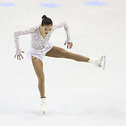 Christina Gao competes during the championship ladies free skate at the 2014 US Figure Skating Championships at the TD Garden on January 11, 2014 in Boston, Massachusetts.
