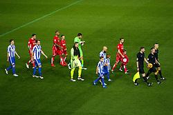 The teams line up - Rogan Thomson/JMP - 05/11/2016 - FOOTBALL - Ashton Gate Stadium - Bristol, England - Bristol City v Brighton & Hove Albion - Sky Bet Championship.