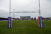 General view inside the Mobile Rocket Stadium before the Betfred Super League match between Wakefield Trinity Wildcats and Warrington Wolves at Belle Vue, Wakefield, United Kingdom on 16 February 2020.