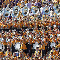 25 October 2008:  The LSU Tigers band performs during the Georgia Bulldogs 52-38 victory over the LSU Tigers at Tiger Stadium in Baton Rouge, LA.