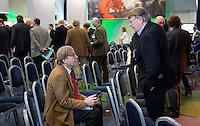 AMSTERDAM - Nationaal Golf Congres & Beurs 2015.Henk Hijster met Pieter Aalders  NVG FOTO KOEN SUYK