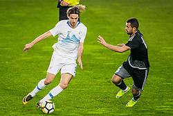 Rene Krhin of Slovenia during friendly football match between National teams of Slovenia and Belarus, on March 27, 2018 in SRC Stozice, Ljubljana, Slovenia. Photo by Vid Ponikvar / Sportida