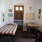 KOLKATA,INDIA SEPT 2: Images from the Mother House of the Missionaries of Charity, located at 54A, A.J.C. Bose Road, Calcutta, is the headquarters of the international religious congregation of the Missionaries of Charity. It has been home to Mother Teresa and her sisters from February 1953 to the present day. It is here that Mother lived, prayed, worked, and guided her religious family of sisters spread across the world. It is here that her body was laid to rest.