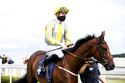 Silver Cliffs ridden by Hector Crouch trained by G L Moore - Mandatory by-line: Robbie Stephenson/JMP - 06/08/2020 - HORSE RACING - Bath Racecourse - Bath, England - Bath Races
