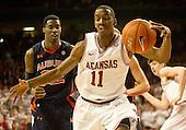 2012 Auburn vs Arkansas basketball