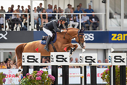 Van Asten Mathijs, NED, Hotspot<br /> FEI WBFSH Jumping World Breeding Championship for Young Horses<br /> Lanaken 2019<br /> © Hippo Foto - Dirk Caremans<br />  22/09/2019