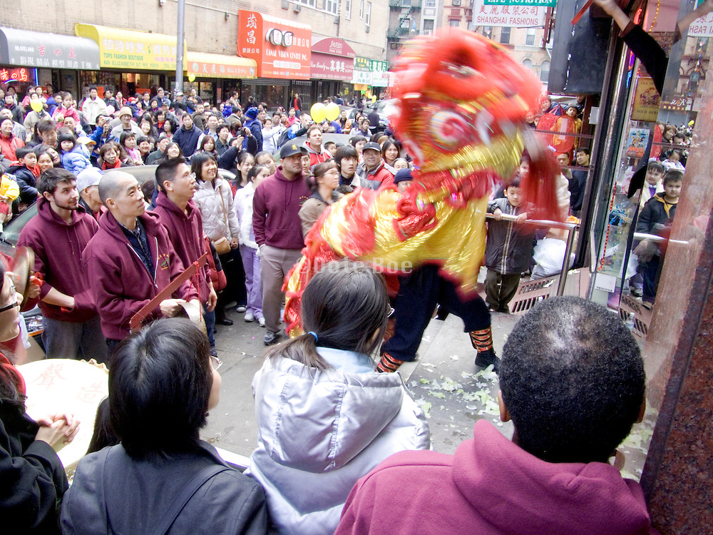 Chinese New Year celebration New York City
