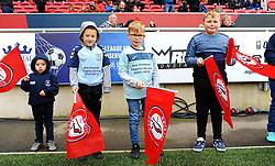 Flag Bearers - Mandatory by-line: Nizaam Jones/JMP - 30/11/2019 - FOOTBALL - Ashton Gate - Bristol, England - Bristol City v Huddersfield Town - Sky Bet Championship