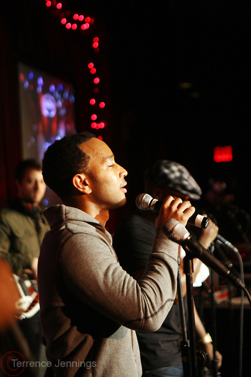15 December 2010-New York, NY-John Legend performs at The 4th Annual Roots Holiday Jam held at BB Kings on December 15, 2010 in New York City. Photo Credit: Terrence Jennings