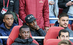Danny Welbeck of Arsenal seen in the crowd - Mandatory by-line: Arron Gent/JMP - 02/05/2019 - FOOTBALL - Emirates Stadium - London, England - Arsenal v Valencia - UEFA Europa League Semi-Final 1st Leg