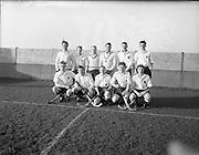 30/01/1953<br /> 01/30/1953<br /> 30 January 1953<br /> Interprovincial Men's Hockey at Londonbridge Road, Dublin. The Ulster team.