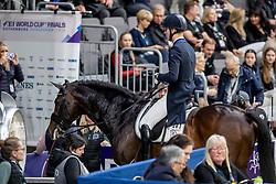 ANDERSEN Daniel Bachmann (DEN), Blue Hors Zack<br /> Göteborg - Gothenburg Horse Show 2019 <br /> FEI Dressage World Cup™ Final I<br /> Int. dressage competition - Grand Prix de Dressage<br /> Longines FEI Jumping World Cup™ Final and FEI Dressage World Cup™ Final<br /> 05. April 2019<br /> © www.sportfotos-lafrentz.de/Stefan Lafrentz