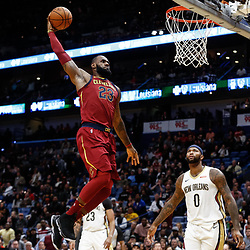 10-28-2017 Cleveland Cavaliers at New Orleans Pelicans