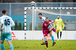 Matej Poplatnik of NK Triglav Kranj during football match between NK Triglav Kranj and ND Gorica in Round #24 of Prva Liga Telekom Slovenije 2017/18, on March 18, 2018 in Sportni park Kranj, Kranj, Slovenia. Photo by Ziga Zupan / Sportida