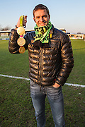Olympian Peter Reed in attendance at todays match during the Vanarama National League match between Forest Green Rovers and Braintree Town at the New Lawn, Forest Green, United Kingdom on 21 January 2017. Photo by Shane Healey.