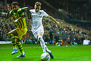 Leeds United defender Ezgjan Alioski (10) during the EFL Sky Bet Championship match between Leeds United and West Bromwich Albion at Elland Road, Leeds, England on 1 October 2019.