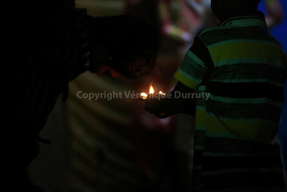 Durga festival,  Rajshahi, Bangladesh : puja for the godess  // fete de Durga, Rajshahi, Bangladesh : puja pour la deesse
