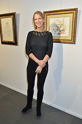 LADY GABRIELLA WINDSOR at a private view of works by Fernando Botero held at the Opera Gallery London, 134 New Bond Street, London on 10th February 2015.