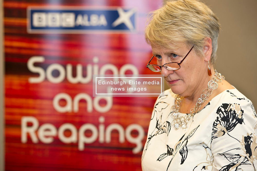 Pictured: Maggie Cunningham<br /> <br /> At today's launching of MG ALBA's annual report, Maggie Cunningham, chair of MG ALBA, and Chris Young, Producer of the Inbetweeners it was announced that BBC Alba have agreed a four-year production deal for Bannan<br /> <br /> New multi-year deal to boost production capability and marks investment in creative Gaelic skills.  Funded by MG ALBA, the Gaelic Media Service - one of the partners behind BBC ALBA – the new contract with Young Films secures the future of the channel's drama series, Bannan and marks a significant investment in drama for the channel. <br /> <br /> Filmed on the Isle of Skye, and produced by  Young, 23 episodes of Bannan have been produced since 2014, with five of those due to be aired on BBC ALBA in the autumn. The success of Bannan has led to an international deal being signed for the series with DRG, one of the leading independent distributors of programmes in the world. The new contract, running until 2021, will lead to at least 20 episodes being produced for the channel. The announcement was made prior to a screening of Bannan at the Edinburgh International Film Festival, and coincided with the launch of MG ALBA's annual report for 2016/17. <br />  <br /> <br /> Ger Harley | EEm 25 June 2017