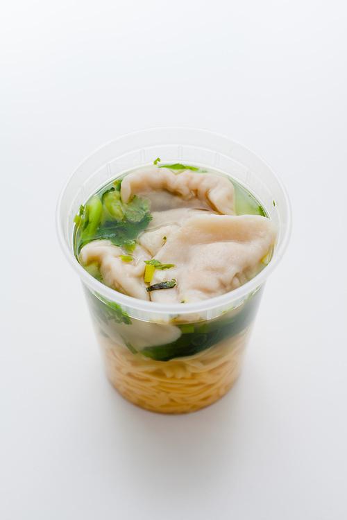 Pork & Cabbage Dumpling Soup from Vanessa's Dumplings ($5.00)