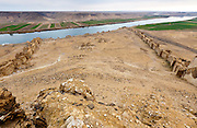 Halabiya Fortress, (Roman and Byzantine) by the Euphrates, Syria