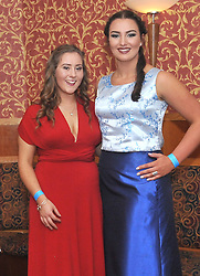Pictured at the recent Tranistion Year Ball held at Hotel Westport were Lily Muldowney and Sarah Walsh.<br /> Pic Conor McKeown