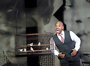 Charlie Parker's Yardbird<br /> by Daniel Schnyder <br /> librettist Bridgette A. Wimberly <br /> English National Opera <br /> at Hackney Empire, London, Great Britain <br /> 7th June 2017 <br /> <br /> <br /> Lawrence Brownlee as Charlie Parker <br /> <br /> <br /> <br /> <br /> <br />  <br /> Photograph by Elliott Franks <br /> Image licensed to Elliott Franks Photography Services