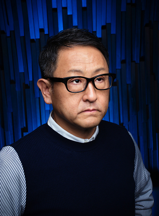 AKIO TOYODA president of Toyota Motor Corp