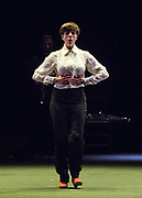 Flamenco Festival London 2018: Women and<br /> Creation at Sadler's Wells, London, Great Britain <br /> 18th February 2018 <br /> <br /> On Sunday 18 February, dramatist Pedro G. Romero and flamenco dancers Ursula López, Tamara López and Leonor Leal present Painter and Flamenco: J.R.T. Drawing inspiration from the Symbolist artist Julio Romero de Torres, this hypnotizing performance aims to break clichés and disarm the representations of the archetypal 'Spanish Woman' that famously feature in his work.<br /> <br /> The annual festival marks its 15th anniversary at Sadler's Wells from Wednesday 14 - Sunday 25 February. With performances from some of the world's finest flamenco dancers and musicians, this year's festival searches beyond the classical images of the flamenco dancer to rediscover forgotten spirits, reclaim women's stories and unearth the true characters behind the dramatic façade.<br /> <br /> Leonor Leal<br /> <br /> Photograph by Elliott Franks