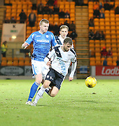 Dundee&rsquo;s Rory Loy goes past St Johnstone&rsquo;s Brian Easton - St Johnstone v Dundee, Ladbrokes Scottish Premiership at McDiarmid Park<br /> <br />  - &copy; David Young - www.davidyoungphoto.co.uk - email: davidyoungphoto@gmail.com