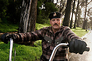 Golden Gate Park. JFK Drive Near Spreckles Lake 9:13 am.Vince D-signed release..photo by Jason Doiy.2-4-06.Photo by Jason Doiy