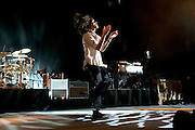 Incubus performing at the Lifestyles Community Pavilion in Columbus, OH on August 30, 2011