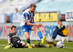 Wigan Athletic's Nick Powell is fouled - Mandatory by-line: Matt McNulty/JMP - 13/08/2017 - FOOTBALL - DW Stadium - Wigan, England - Wigan Athletic v Bury - Sky Bet League One