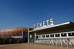 RSA, FIFA WM 2010, Soccer City Stadium Feature.08.06.2010, Soccer City Stadium, Johannesburg, RSA, FIFA WM 2010, Soccer City Stadium Feature im Bild eine Übersicht auf das Stadion mit dem Ticket Schalter, EXPA Pictures © 2010, PhotoCredit: EXPA/ IPS/ Mark Atkins / SPORTIDA PHOTO AGENCY