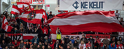 13.04.2019, Keine Sorgen Eisarena, Linz, AUT, Euro Hockey Challenge, Österreich vs Tschechien, Länderspiel, im Bild Eishockeyfans // during the international friendly match between Austria and Czech Republic, as part of the Euro Hockey Challenge at the Keine Sorgen Eisarena in Linz, Austria on 2019/04/13. EXPA Pictures © 2019, PhotoCredit: EXPA/ Reinhard Eisenbauer